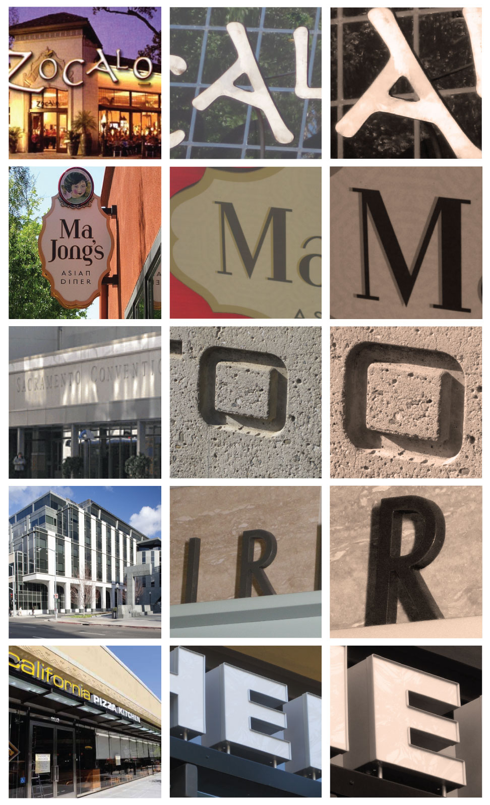 Diy photo letter collage sarah fina designs for Last name pictures architecture